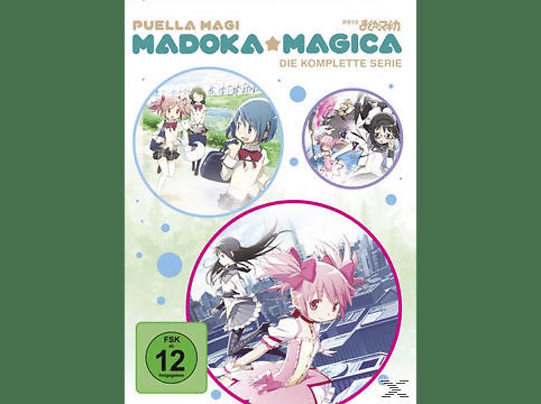 Madoka Magica Komplettbox [DVD]