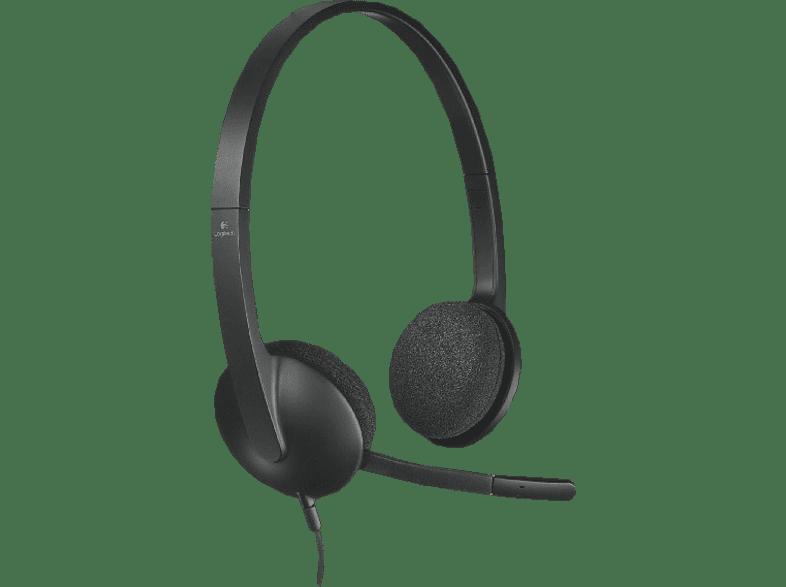 LOGITECH H340 Headset schwarz