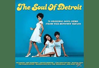 VARIOUS - The Soul Of Detroit  - (CD)
