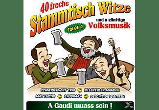 VARIOUS - 40 Freche Stammtisch Witze, Folge 4  - (CD)