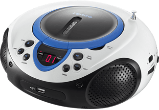 LENCO SCD-38 USB Radio portable Bleu