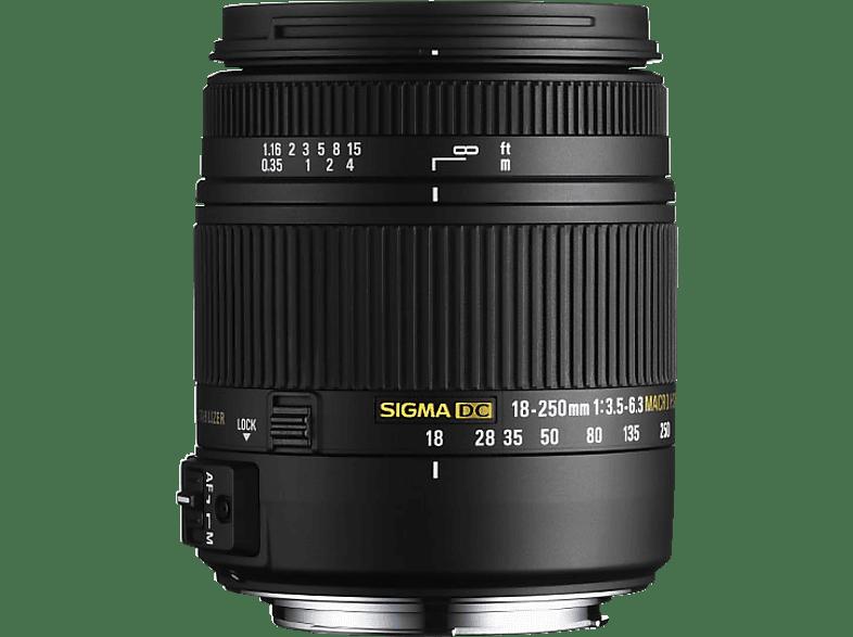 SIGMA 883955  für Nikon F-Mount, 18 mm - 250 mm, f/3.5-6.3