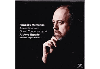 Eduardo Lopez Banzo - Handel's Memories-A Selection From Grand Concertos Op.6 - Al Ayre Espanol  - (SACD Hybrid)