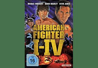 American Fighter 1 - 4 DVD-Box DVD