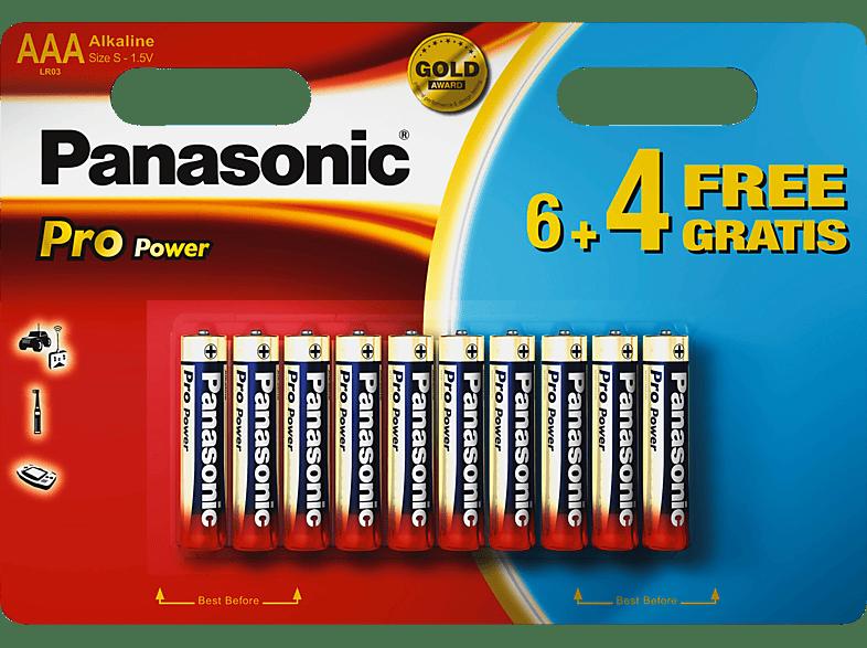PANASONIC LR03PPG/10BW AAA (Micro) Batterie Alkaline 10 Stück