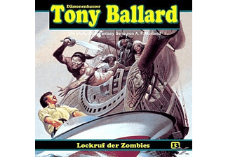 Tony Ballard 13: Lockruf der Zombies - 1 CD - Horror