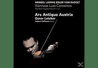 Gunar Letzbor, Gunar & Ars Antiqua Austria Letzbor - Viennese Lute Concertos  - (CD)