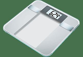 Báscula de baño - Beurer BG 13 Peso máximo 150Kg , Precisión de 100g, 5 niveles de