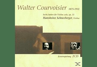 Hansheinz Schneeberger - Courvoisier-Suiten Für Violine  - (CD)