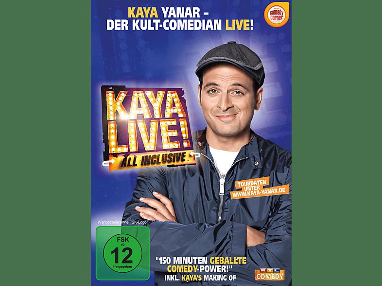 Kaya Yanar - Kaya Live! All inclusive [DVD]