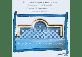 JADE QUART., CUAR.LEONOR, Jade Quartett/Cuarteto Leonor - Streichoktette  - (CD)