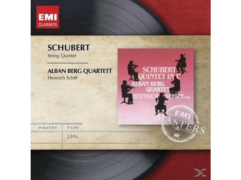 Heinrich Schiff, Alban Berg Quartet - Streichquintett [CD]