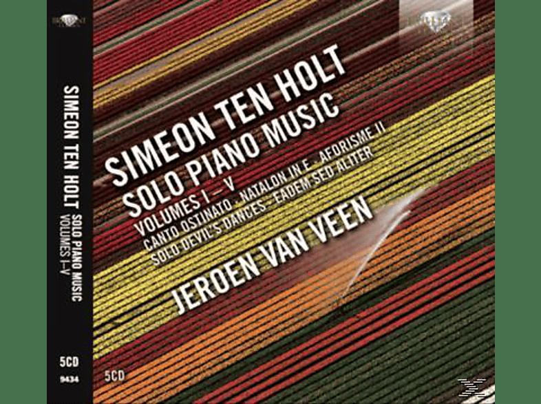 Jeroen Van Veen - Simeon Ten Holt - Solo Piano Music Vol. I-V [CD]
