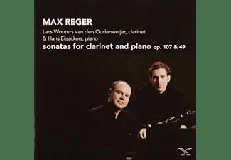 Lars Wouters Van Den Oudenweijer - Sonatas For Clarinet & Piano  - (CD)