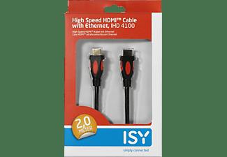 ISY IHD 4100 HDMI-Kabel HDMI-Kabel, Schwarz