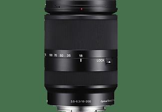 SONY SEL18200LE 18 mm - 200 mm f/3.5-6.3 OSS, ASPH, Circulare Blende (Objektiv für Sony E-Mount, Schwarz)