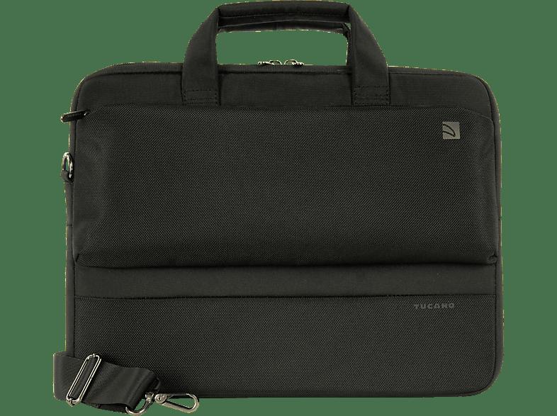 TUCANO 32072 Dritta Slim Notebooktasche, Aktentasche, 14 Zoll, Schwarz