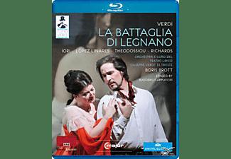 Orchestra/Coro Teatro Regio Pa, Brott/Iori/Lopez Linares/Theodossiou - La Battaglia Di Legnano  - (Blu-ray)