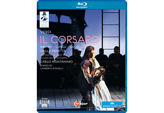 Orchestra/Coro Teatro Regio Pa, Montanaro/Ribeiro/Papi/Lungu - Il Corsaro  - (Blu-ray)