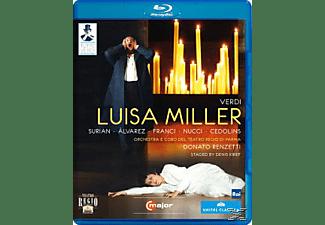Orchestra/Coro Teatro Regio Pa, Renzetti/Surian/Alvarez/Franci - Luisa Miller  - (Blu-ray)