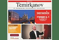 Yuri Temirkanov, St. Petersburg Philarmonic Orchestra - Symphony No. 5 In D Minor Op. 47 [CD]