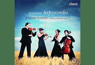 Quatuor Terpsycordes - Streichquartette op.33  1,2,5,  - (CD)