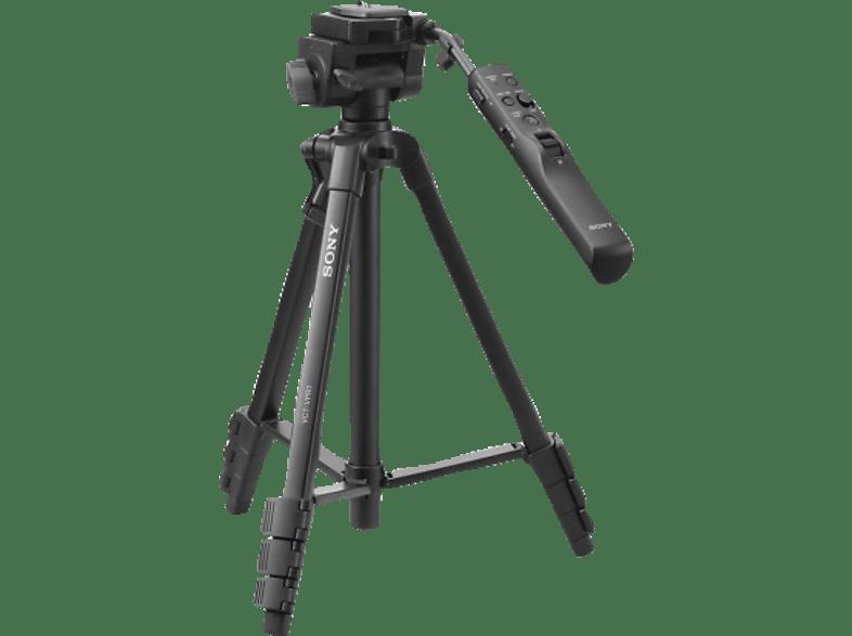 SONY VCT-VPR 1 Dreibein Stativ, Schwarz, Höhe offen bis 1465 mm
