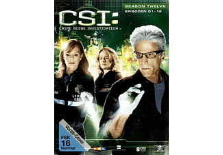 CSI: Crime Scene Investigation - Staffel 12.1 [DVD]