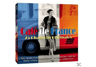 VARIOUS - Cafe De France  - (CD)