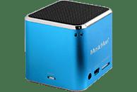 TECHNAXX MusicMan Mini BT-X2 Dockingstation, Blau