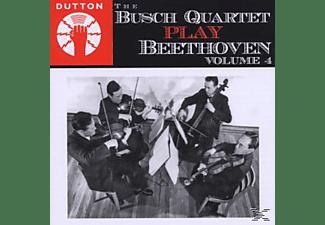 The Busch Quartet - Busch Quartet Play Beethoven Vol.4  - (CD)