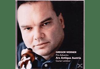 Gunar Letzbor, Ars Antiqua Austria - Pro Adventu  - (CD)