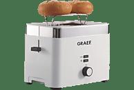 GRAEF TO 61 Toaster Weiß (1000 Watt, Schlitze: 2)