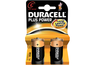 DURACELL Plus Power C 2-pack - Batterier