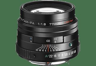 PENTAX SMC FA 77mm/1,8 Limited - 77 mm f/1.8 (Objektiv für Pentax K-Mount, Schwarz)