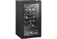 SEVERIN KS 9894 Weinklimaschrank (142 kWh/Jahr, EEK A, Schwarz)