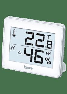 LCD Temperaturstation Thermometer Hygrometer Wetterstation Luftfeuchtigkeit