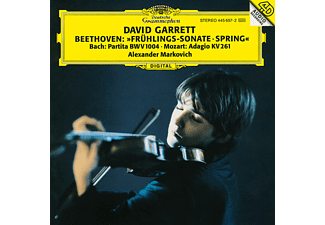 David Garrett - Frühlings-Sonate/Partita Bwv 1004/Adagio Kv 261  - (CD)