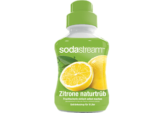 SODASTREAM Getränkesirup Zitrone-naturtrüb-Geschmack, 375 ml