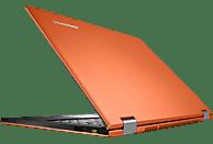 LENOVO IdeaPad® Yoga 13 MAM4DGE, Ultrabook mit 13.3 Zoll Display, Core™ i7 Prozessor, 8 GB RAM, 256 GB SSD, HD-Grafik 4000, Orange