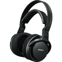 SONY MDR-RF855RK, Over-ear Funkkopfhörer  Schwarz