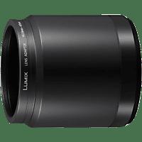 PANASONIC DMW-LA7GU Filteradapter, DMC-FZ200 für 55 mm Filter DMW-LT55 und DMW-LC55, Schwarz