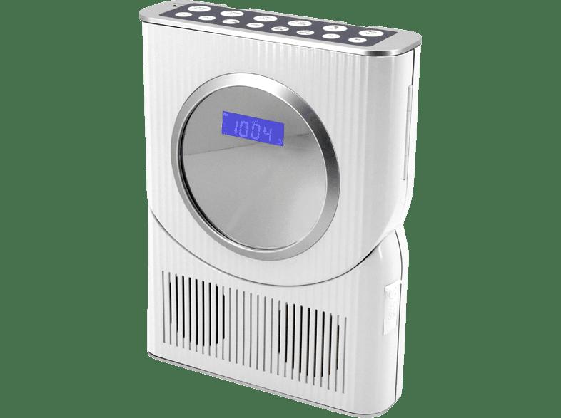 Soundmaster Bcd250 Badezimmer Radio Fm Tuner Weiss Badezimmer Radio Kaufen Saturn
