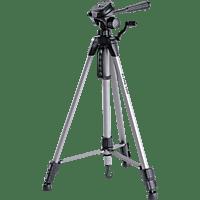 CULLMANN 52122 Alpha 2200 Dreibein Stativ, Silber, Höhe offen bis 1490 mm
