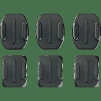 GOPRO Klebehalterungen - Hero2 / Hero3, Klebebefestigungen für GoPro Kameras, Schwarz, passend für alle GoPro Kameras