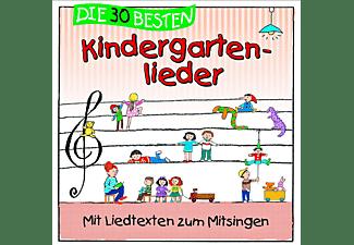 Simone Sommerland, Karsten Glück, Die Kita Frösche - Die 30 besten Kindergartenlieder - Mit Liedtexten zum Mitsingen [CD]