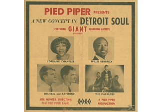 VARIOUS - Pied Piper Presents A New Concept In Detroit Soul - (CD)