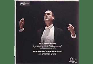Netherlands Symphony Orchestra, Juditth van Wanrooij, Machteld Baumans, Patrick Henckens, Choir Consensus Vocalis - Sinfonie 2 'Lobgesang'  - (SACD Hybrid)