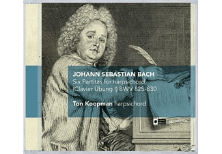 Ton Koopman - Six Partitas For Harpsichord (Clavier Übung I)  - (CD)