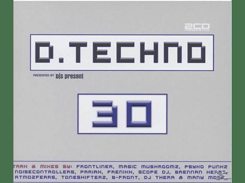 VARIOUS - D. Techno 30 [CD]